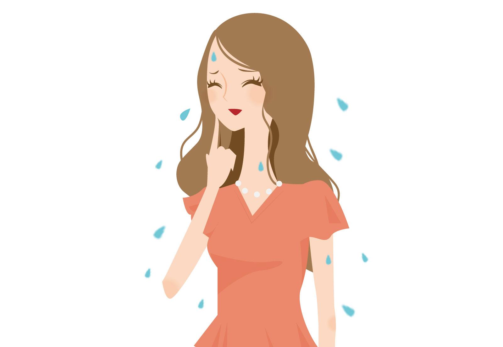 汗っかきと多汗症の違いは一体何?多汗症の種類についてもご紹介