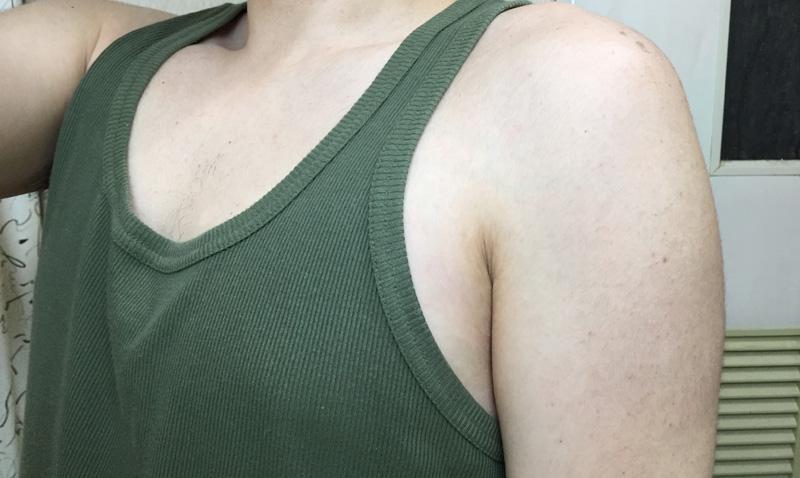 【男の脇毛除毛】ヌルリムーバークリームで脇毛の形を調整したら…